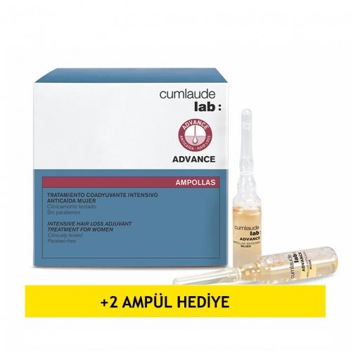 Cumlaude Lab - Cumlaude Lab Advance Ampoules-Women 15 x 5 ml | 2 Ampül HEDİYE