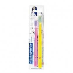 Curaprox - Curaprox Anne ve Çocuk İçin Özel Diş Fırçası Seti