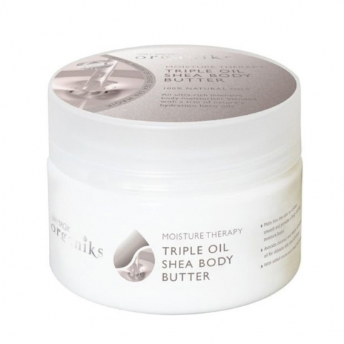 Dead Sea Spa Magik - Dead Sea Spa Magik Organiks Sleep Therapy Triple Oil Shea Body Butter 250ml