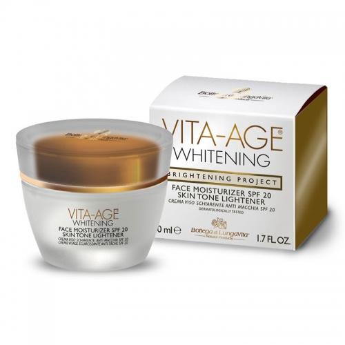Dead Sea Spa Magik - Dead Sea Spa Magik Vita Age Whitening Face Moisturizer SPF20 50 ml