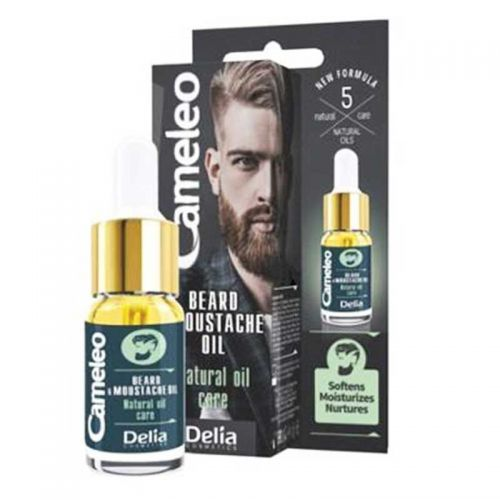 Delia Cosmetics - Delia Cameleo Beard & Moustache Oil 10 ml