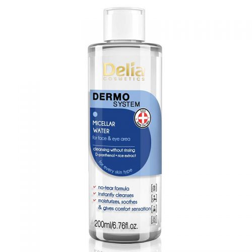 Delia Cosmetics - Delia Dermo System Micellar Water For Eye Area 200 ml