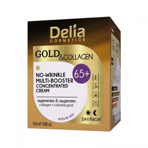 Delia Cosmetics - Delia Gold Collagen Cream 65+ 50 ml