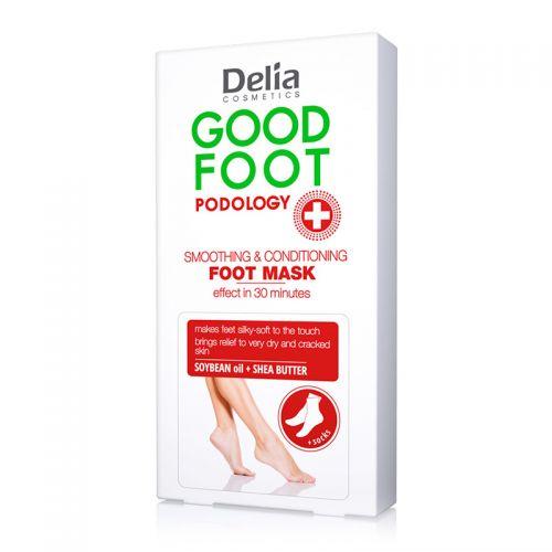 Delia Cosmetics - Delia Good Foot Podology Smoothig & Conditioning Foot Mask