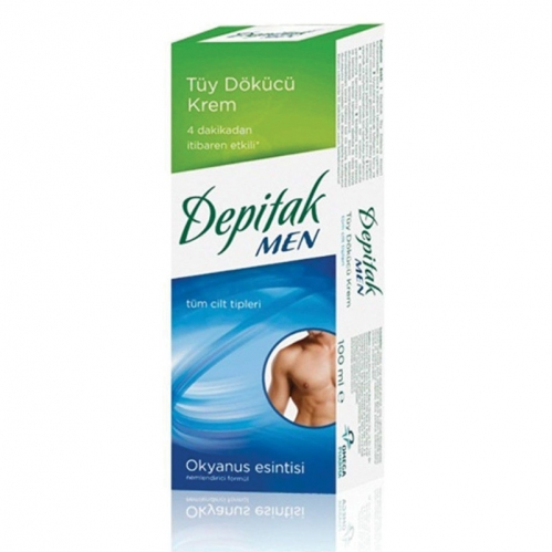 Depitak - Depitak Men Tüy Dökücü Krem 100ml