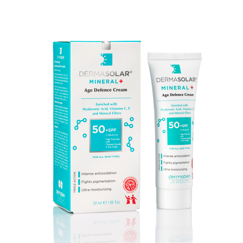 Dermabien - Dermabien Dermasolar Mineral Plus SPF50+ 50ml   Renksiz