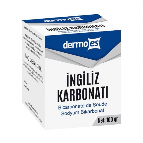 Dermoes - Dermoes İngiliz Karbonatı 100 gr