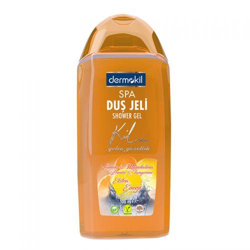 Dermokil - Dermokil Limon ve Mandalina Duş Jeli 500 ml