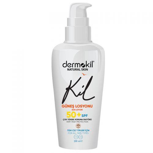 Dermokil - Dermokil Natural Skin Güneş Losyonu 50 SPF 200 ml