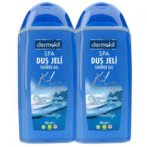 Dermokil - Dermokil Okyanus Esintili Duş Jeli 2 li