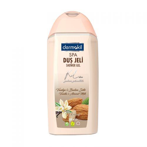 Dermokil - Dermokil Therapy Badem ve Vanilya Duş Jeli 500 ml