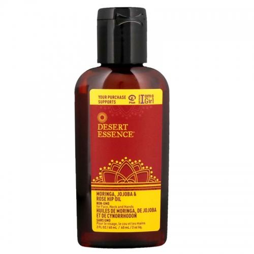 Desert Essence - Desert Essence Moringa Jojoba & Kuşburnu Yağı 59 ml