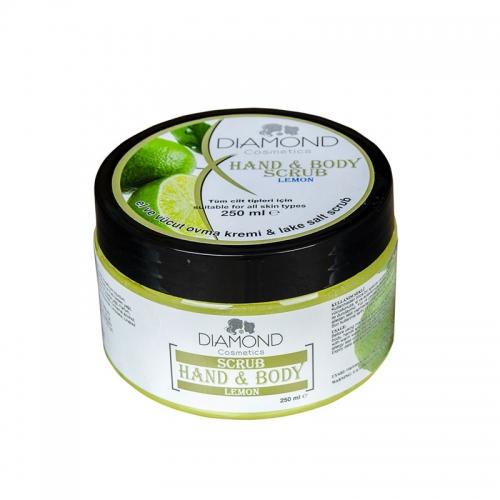 Diamond - Diamond Scrub Limon El ve Vücut Kremi 250 ml