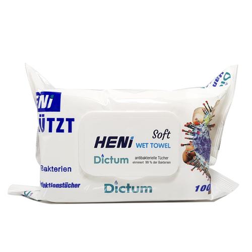 Dictum - Dictum Soft Antibakteriyel Islak Mendil 100 Adet