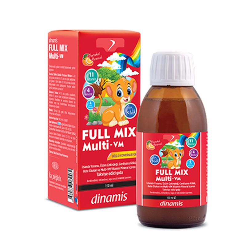 Dinamis - Dinamis Full Mix Multi-Vm İçeren Takviye Edici Gıda 150 ml