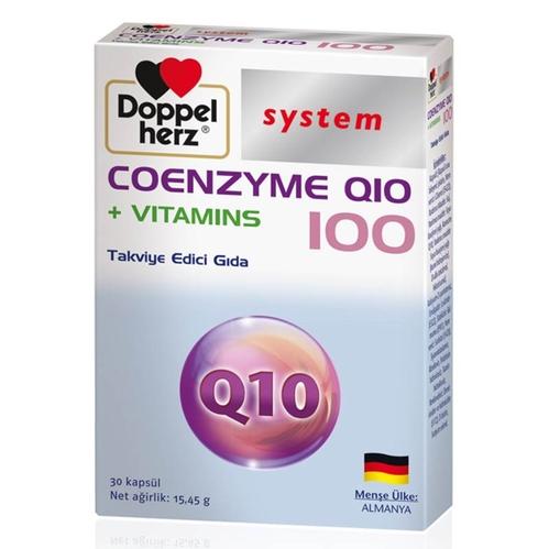 Doppel Herz - Doppel Herz System Koenzim Q10 ve Multivitamin 30 Kapsül