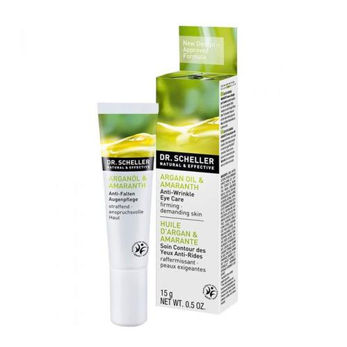 Dr.Scheller - Dr Scheller Argan Oil & Amaranth Anti-Wrinkle Eye Care Firming 15 ml