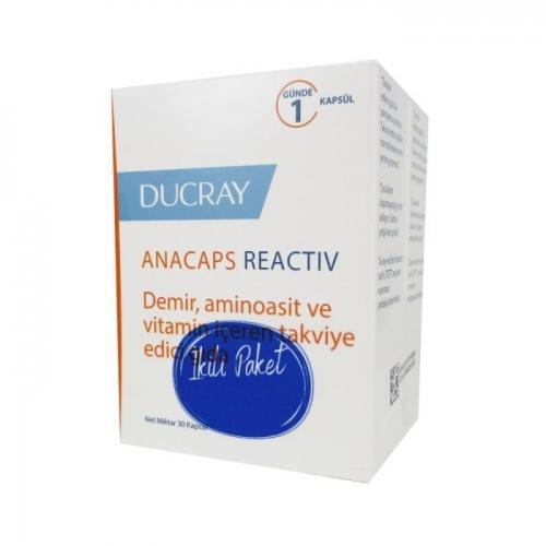 Ducray - Ducray Anacaps Reactiv İkili Paket