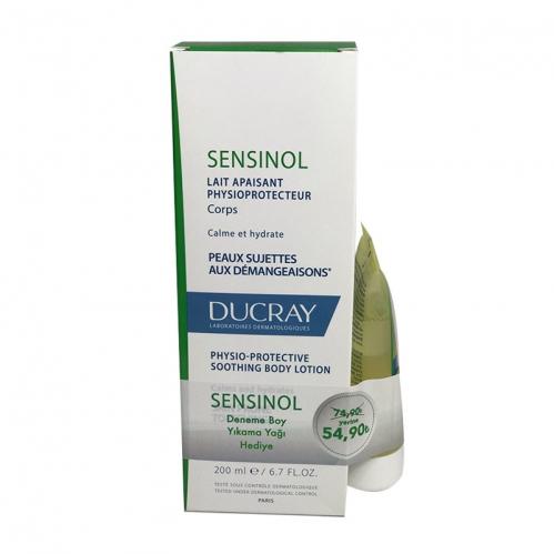 Ducray - Ducray Sensinol Vücut Losyonu 200 ml +Sensinol Yıkama Yağı HEDİYE