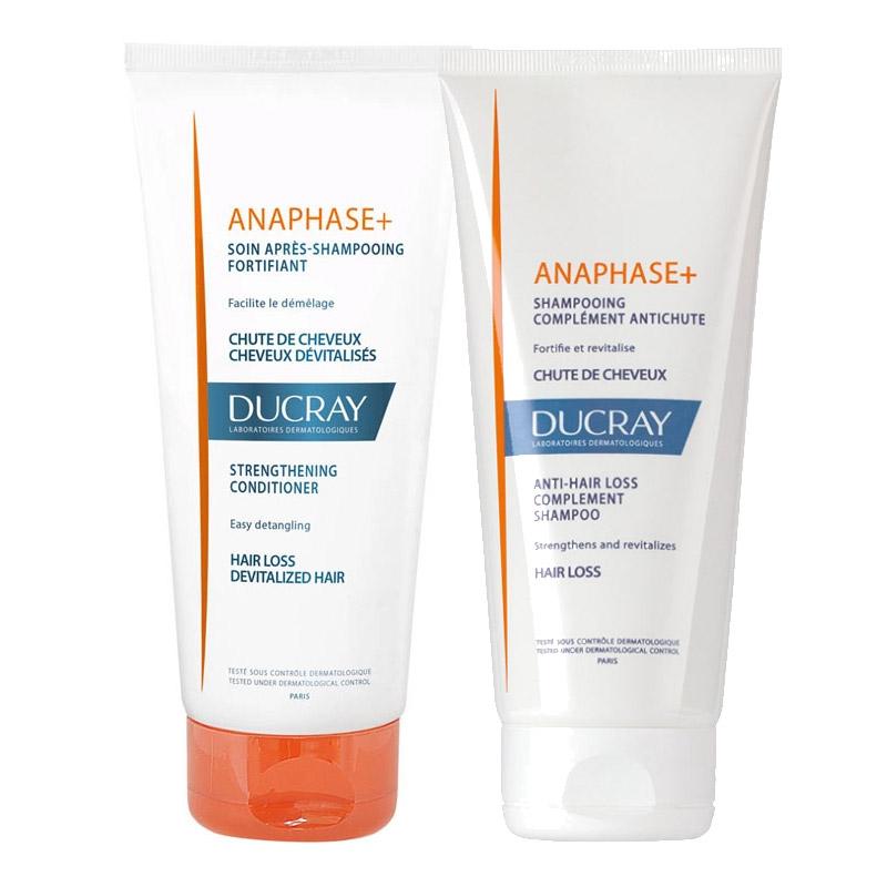 Ducray - Ducray Anaphase +Plus Saç Bakım Seti