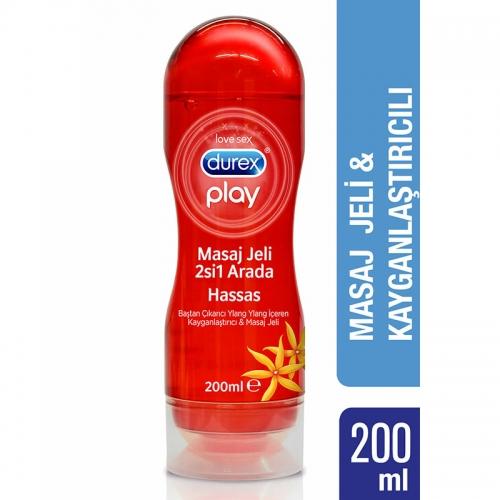 Durex Play Sensual Massage 2 in 1 Masaj Jeli 200ml