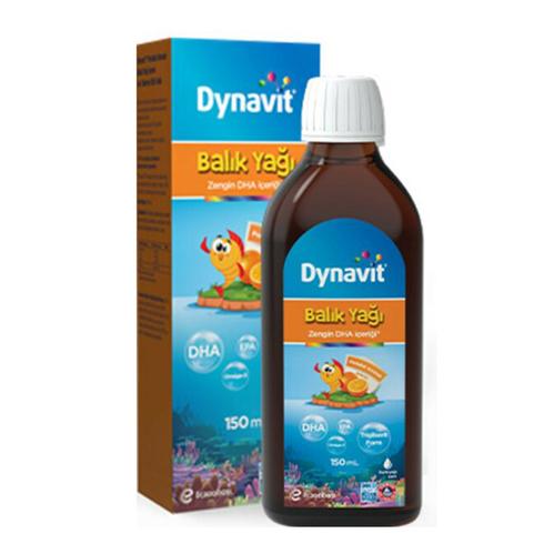 Dynavit - Dynavit Portakal Aromalı Balık Yağı 150 ml