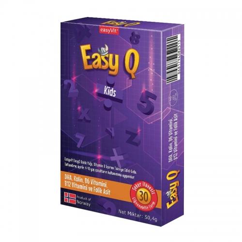 EasyVit - Easy Q Kids Çiğnenebilir 30 Tablet