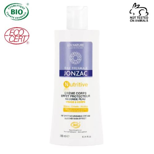 Eau Thermale Jonzac - Eau thermale jonzac Nutritive Organik Sertifikalı İkinci Cilt Etkili Vücut Kremi 200 ml