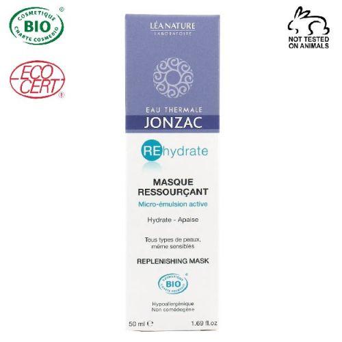 Eau thermale jonzac Rehydrate Organik Sertifikalı Yüz Maskesi 50 ml