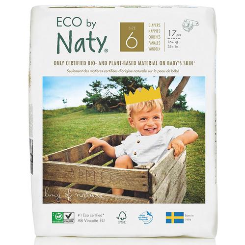 Eco by Naty - Eco by Naty Bebek Bezi XL 17 Adet No-6