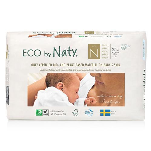 Eco by Naty - Eco by Naty Bebek Bezi Yenidoğan 25 Adet No-0