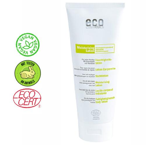 Eco Cosmetics - Eco cosmetics Jojoba ve Shea Yağı Özlü Organik Sertifikalı Vücut Losyonu 200 ml