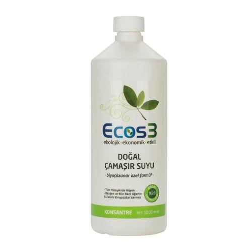 Ecos3 - Ecos3 Ekolojik Doğal Çamaşır Suyu 1LT