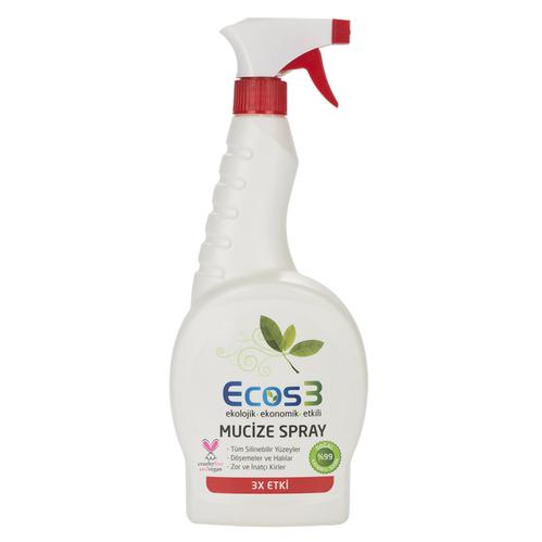 Ecos3 - Ecos3 Ekolojik Genel Temizlik Spreyi 750ml