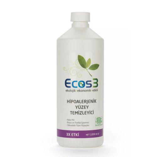 Ecos3 - Ecos3 Ekolojik Hipoalerjenik Yüzey Temizleyici 1LT