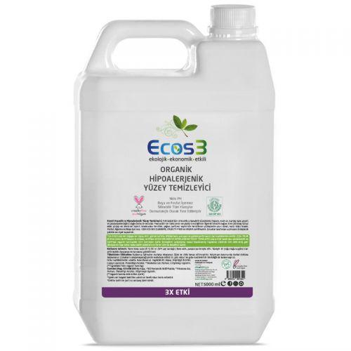 Ecos3 Ekolojik Hipoalerjenik Yüzey Temizleyici 5 LT