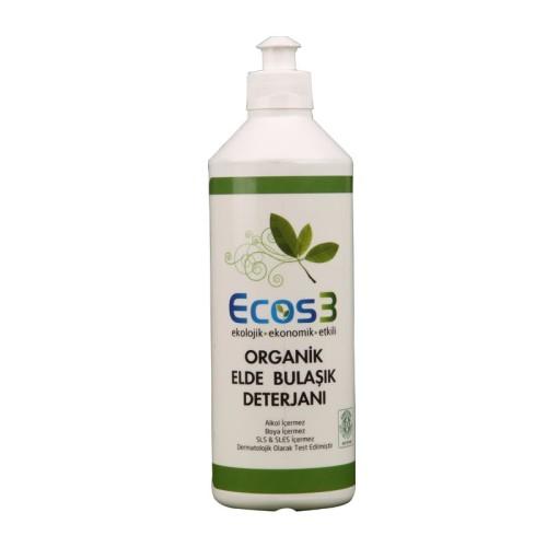 Ecos3 - Ecos3 Organik Elde Yıkama Bulaşık Deterjanı 500 ml