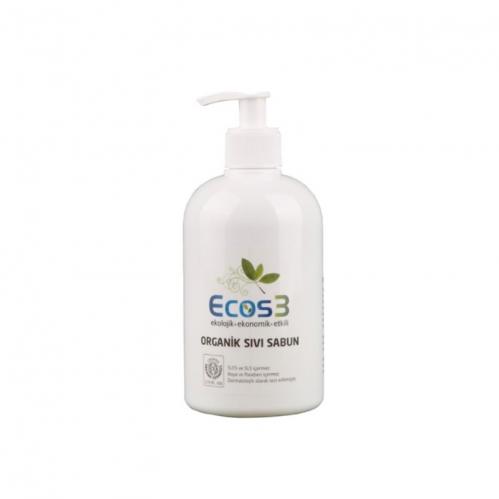 Ecos3 - Ecos3 Organik Sıvı Sabun 500ml - Manolya Kokulu