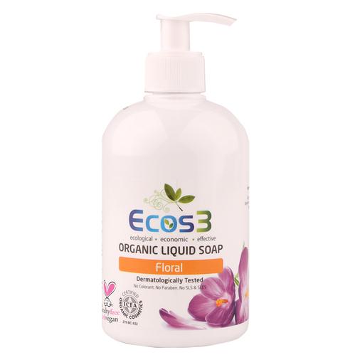 Ecos3 - Ecos3 Organik Sıvı Sabun Floral 500ml