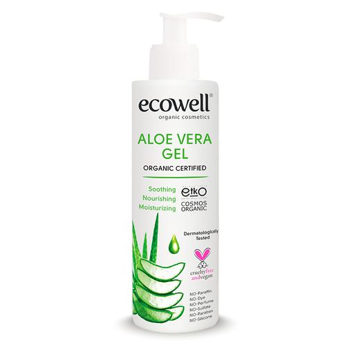 Ecowell - Ecowell Organik Aloe Vera Jel 200 ml