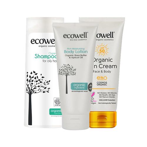 Ecowell - Ecowell Organik Güneş Bakım Seti