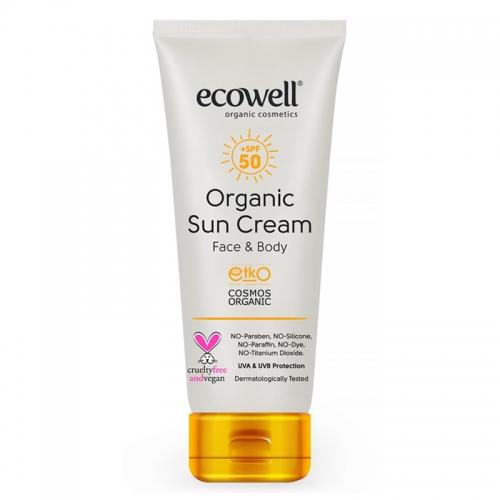 Ecowell Organik Güneş Kremi Spf 50 110 gr
