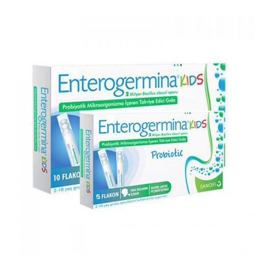 Enterogermina Çocuklar için Takviye Edici Gıda 75ml ( 5ml x 15 flakon )