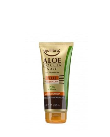 Equilibra - Equilibra Aloe Sun Shower Gel 100ml