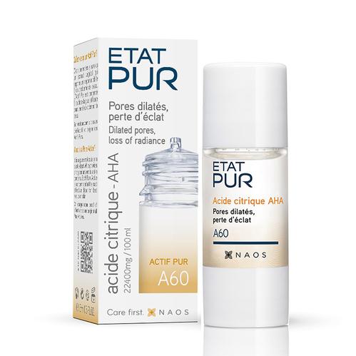 Etat Pur - Etat Pur Citric Acid - Aha Pure Active Konsantre Bakım Ürünü 15 ml - A60