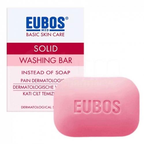 Eubos - Eubos Parfümlü Katı Cilt Temizleyicisi 125 GR