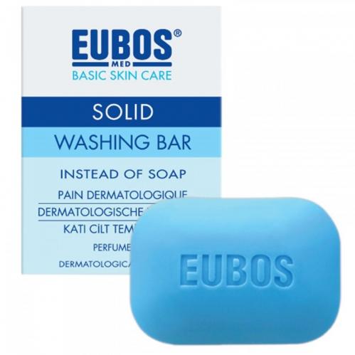 Eubos - Eubos Parfümsüz Katı Cilt Temizleyicisi 125 GR
