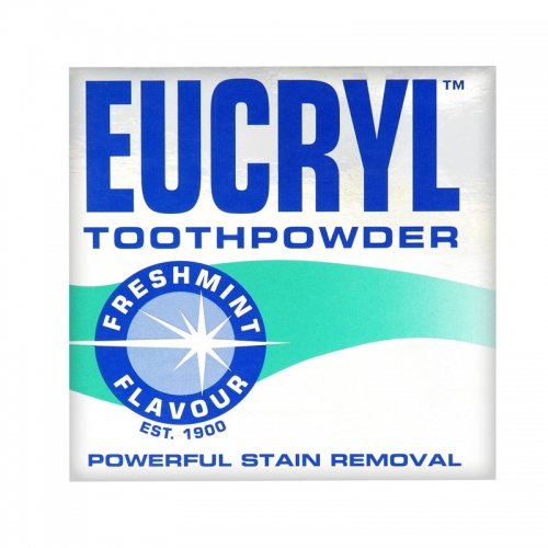 Eucryl - Eucryl Toothpowder Powerful Stain Removal Freshmint 50 GR