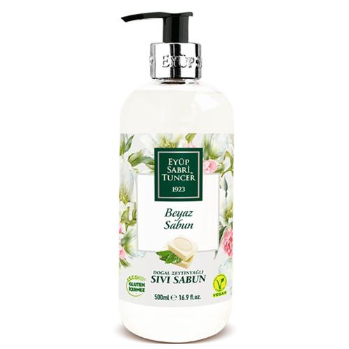 Eyüp Sabri Tuncer - Eyüp Sabri Tuncer Doğal Zeytinyağlı Beyaz Sabun Sıvı Sabun 500 ml