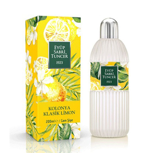 Eyüp Sabri Tuncer - Eyüp Sabri Tuncer Klasik Limon Kolonyası 200 ml - Cam Şişe